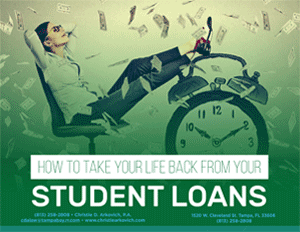 How to take your life back from your Student Loans