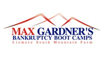 Max Gardner's Bankruptcy Boot Camps badge